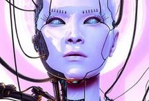 Sexy robots & Fembots & Cyborg girls