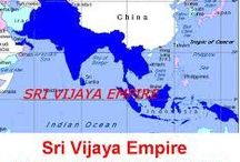 """Srivijaya Empire 650 ~ 1377  / Srivijaya (also written Sri Vijaya, Indonesian: Sriwijaya, Thai: ศรีวิชัย or Ṣ̄rī wichạy, RTGS: Siwichai) was a powerful ancient thalassocratic Malay empire based on the island of Sumatra, modern day Indonesia, which influenced much of Southeast Asia. Srivijaya was an important centre for Buddhist expansion in the 8th to 12th centuries. In Sanskrit, sri (श्री) means """"fortunate"""", """"prosperous"""", or """"happy"""" and vijaya (विजय) means """"victorious"""" or """"excellence""""."""