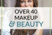 Makeup, Beauty Over 40 Tips and Tricks / Over 40 and midlife beauty tips. Makeup, skin care and beauty advice to look radiant, especially for women over 40. http://roundandroundrosie.com/