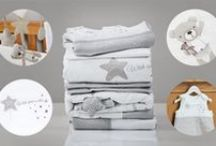 Bedding For Your Nursery / The exclusive Silver Cross bed linen collections are designed and produced to the highest standards. Perfect for your new arrival or as a gift for parents-to-be. Choose from Vintage Pink, Vintage Blue or Handmade with Love.