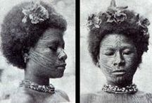 New Guinea Vintage / AS FAR BACK as the old men and women can remember, tattooing has been a tribal custom of the coastal peoples of Papua New Guinea. Among the Motu, Waima, Aroma, Hula, Mekeo, Mailu and other related southwestern groups.