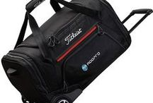 Logo Printed Golf Luggage Range / A range of Golf Luggage that can be embroidered or printed with your company logo, golf crest or text. Great for promoting your brand and presenting as gifts for golf days.