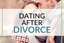 Dating After Divorce. / Dating after divorce is not easy! Here's information, tips and ideas for dating after divorce or a breakup. roundandroundrosie.com/