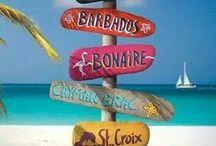 Caribbean Islands / Sint Maarten is my second home! Love the Caribbean