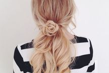 hair ideas❥ / My favorite ideas for summer❤️  I love to do hairstyles summer