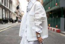 Streetstyle/ white essential