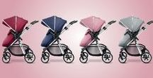 New Colours Out Now / Our much-anticipated new colours have arrived! Vintage Red, Vintage Blue, Vintage Pink and Silver are beautiful new additions for the Silver Cross Pioneer and Wayfarer pram systems.