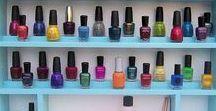 Nail polish racks | displays | storage / How do you display all your nail polish?