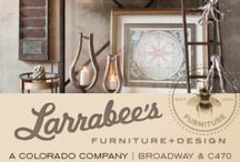 Decor & Accessories / Larrabee's Furniture + Design has some of the best and most reasonably priced accessories in Colorado!