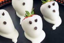 Holidays-Halloween Food Fun / Halloween Party's are so much fun! I hope you find some clever and nutritious ideas here.