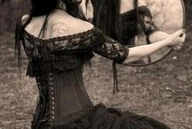 Gothic Corset Dresses / http://www.thelondoncorsetcompany.co.uk/gothic-dresses.php