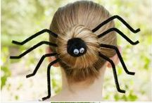 Halloween Hairstyles / Complete your Halloween look and have some hair raising good fun!