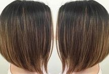 Glam Bob / See options of this classic length to fit your style