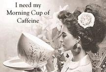 Coffee Time / Il mio regno per ... un #caffè!!! Raccolta di tazze, tazzine e mug legate ad una dele tradizioni ed usanze italiane, irrinunciabile per darsi la carica!