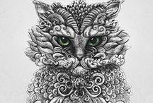 Arte con gatitos