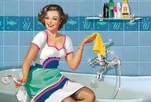 Illustrations / Raccolta di #illustrazioni legate al mondo delle #pulizie e del #cleaning