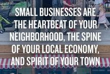#ShopLocal #ShopSmall #EatLocal / my favorite local stores and information on how shopping small helps your local communities / by blink by heidi