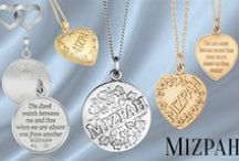 "Mizpah® / MIZPAH – a word from the Holy Scriptures can be translated to ""hopeful expectation"" and is a symbol of peace and wisdom. The peace found when souls join and journeys become one.  A MIZPAH® jewel is a symbol of the unbreakable bond between hearts, a divine shield and a messenger of hope. A MIZPAH® jewel is more than just a beautiful thing to own. MIZPAH is the sense that all obstacles can be overcome and when this mysterious word is invoked, it begins to weave its angelic blessings."