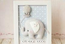 Cadeaux pour bébé / Un cadeau à réaliser pour la naissance d'un bébé