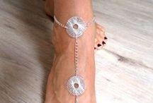 Sandales pieds nus