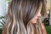 Balayage Hair Color / Inspiration as far as the eye can see.