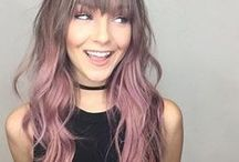Pink Hair Color / Live Colorfully