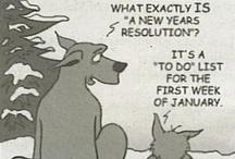 Les Bonnes Résolutions ^^ / Les bonnes résolutions sont une coutume de la civilisation occidentale qui consiste, à l'occasion du passage à la nouvelle année le 1er janvier, à prendre un ou plusieurs engagements envers soi-même pour améliorer son comportement, une habitude ou son mode de vie durant l'année à venir.....