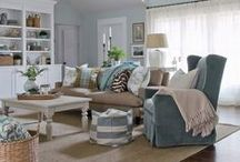 Living room/family room / Ideas for living rooms.
