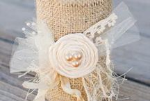 Burlap Decors / by Fibro Wellness People