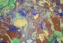 Telas / Canvas / Pintura acrílica ou a óleo sobre telas. Acrylic paint or oil on canvas.