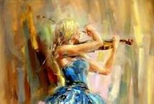 Paint your life / Fragments from life painted with so much talent