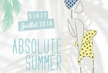 ABSOLUTE SUMMER 2014 / Public event Absolute Summer by Mode City - July 2014 - Paris