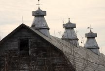 Weather Vanes! Cupolas! / My dream to have an antique Cupola & Vane! / by Elaine