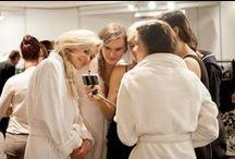 SIL 2015 - Backstage / Backstage of lingerie runway shows - Salon International de la Lingerie - Jan. 2015 - Paris