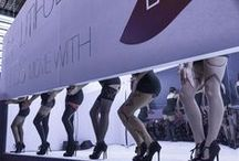 SIL 15 - Beautiful Legs show / Salon International de la Lingerie - Legwear show - Jan. 2015 - Paris