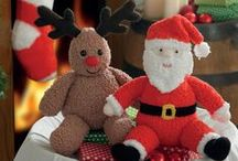 Christmas Knitting & Crochet Patterns / All King Cole Christmas knitting and crochet patterns in one place