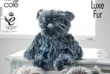 Toys and Novelties / Knitted and Crochet toy pattern collection from King Cole