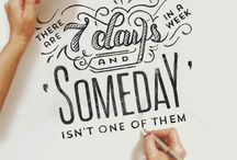 Hand lettering / by Sara Renfroe