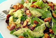 Vegan Salads / Be sure to check out my other vegan food boards, I have several going on. / by Ann S Ⓥ