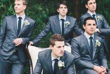 Groomsmen / We love all types of groomsmen looks! President Tuxedo has locations throughout Michigan, Ohio and Kentucky. www.presidenttuxedo.com