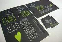 Wedding Invitations / Get inspiration for YOUR perfect wedding invitation.