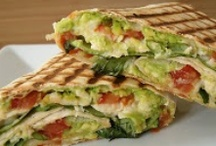 Sandwiches & Wraps (Vegan) / Be sure to check out my other vegan boards, I have several. / by Ann S Ⓥ