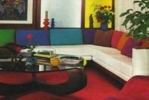 70s interiors / Inspiring 70s interiors