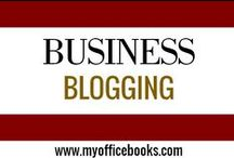 BUSINESS BLOGGING / Business blogging for success. How can you increase engagement? How can social media help you blog better? How to find content to blog about?
