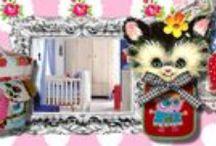 Kinderkamer / Veel inspiratie voor het inrichten van een gezellige, hippe en originele kinderkamer!