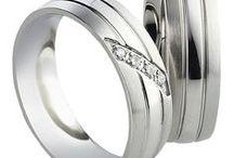 AIOLA Snubní prsteny Timeless / Snubní prsteny  z chirurgické oceli