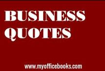 "BUSINESS QUOTES / Do you need a sensational business quotes to motivate you? A quote to help you find the inspiration to succeed with your dreams and business goals.  ""Don't wait till tomorrow what you can do today!"" #quotes #smallbusiness #myofficebooks #businessquotes"