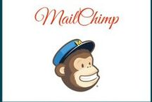 """MAILCHIMP / Want to know more about """"mailchimp"""" then this is the folder for you. How to use mailchimp? Best practises with email marketing? How to format your newsletters on mailchimp? and much more #mailchimp #newsletters"""