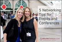 CONFERENCE IDEAS / Attending a conference and at loss as to how to promote yourself? Here are some great ideas, fashions and blogs to help! #conference #ideas