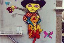 Street art - Graphite